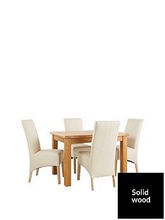 oakland-120cm-solid-wood-dining-table-4-eternity-chairs