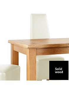 oakland-120cm-solid-wood-dining-table-4-manhattan-chairs