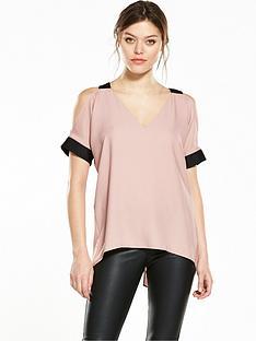 river-island-cold-shoulder-blouse