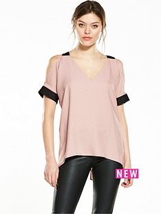 river-island-cold-shoulder-blouse