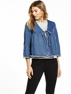 lost-ink-short-denim-tie-front-jacket-indigo-blue