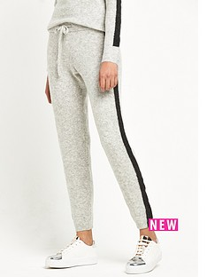 river-island-river-island-grey-stripe-knitted-joggers