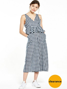 lost-ink-gingham-frill-jumpsuit