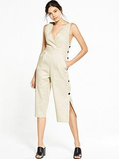 lost-ink-lost-ink-deep-plunge-button-side-jumpsuit