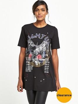 river-island-print-d-ring-back-t-shirt