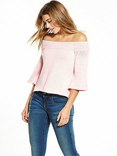lost-ink-the-chase-chunky-bardot-top-pink