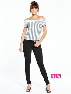 lost-ink-stripe-bardot-top