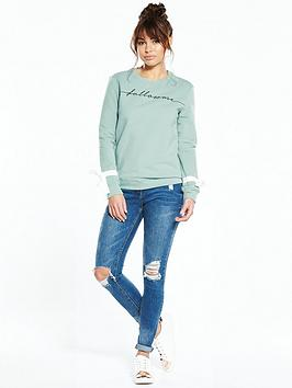 lost-ink-follow-me-bow-sleeve-sweat