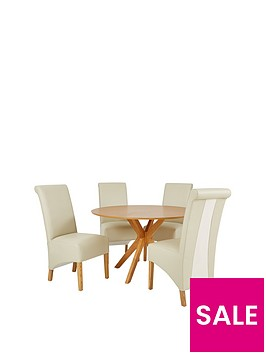 starburst-119-cm-oak-veneer-circular-dining-table-4-sienna-chairs