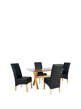 venla-150-cm-solid-wood-and-glass-dining-table-4-eternity-chairs-arrives-in-one-delivery