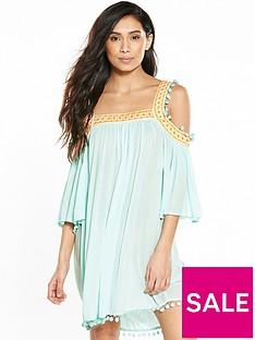 v-by-very-cold-shoulder-smock-beach-dress