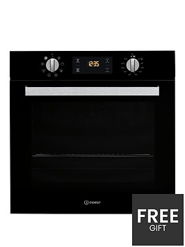 indesit-aria-ifw6340bluk-built-in-single-electric-oven-with-optional-installation-black