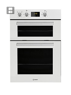 indesit-aria-idd6340wh-built-in-double-electric-oven-with-optional-installation-white