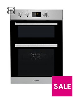 indesit-aria-idd6340ixnbspbuilt-in-double-electric-oven-stainless-steel