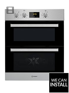 indesit-aria-idu6340ix-built-under-double-electric-oven-with-optional-installation-stainless-steel