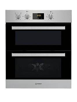 Indesit Aria Idu6340Ix Built-Under Double Electric Oven  - Oven With Installation