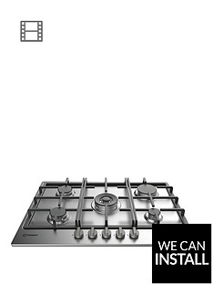 indesit-aria-thp751wixi-75cm-built-in-gas-hob-with-fsd-and-optional-installationnbsp--stainless-steel
