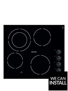 indesit-vrm641mdc-60cm-ceramic-electric-hob-with-optional-installation-black