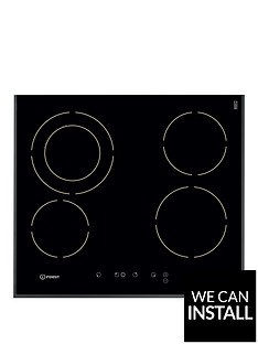 indesit-vra641dbs-60cmnbspbuilt-in-electric-ceramic-hob-with-optional-installation-black