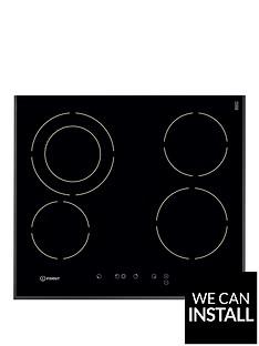 indesit-vra641dbs-60cmnbspbuilt-in-electric-ceramic-hob-with-optional-installation-black