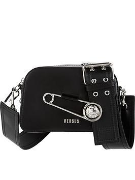 versus-versace-safety-pin-detail-cross-body-bag-black