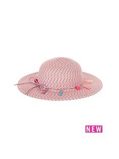 monsoon-girls-pom-pom-tassel-floppy-hat