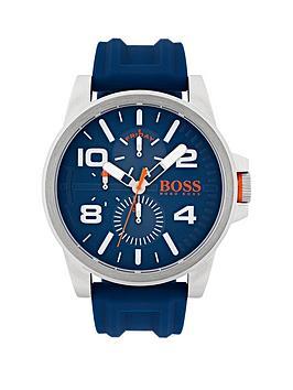 hugo-hugo-boss-orange-detroit-blue-multi-dial-blue-rubber-strap-mens-watch