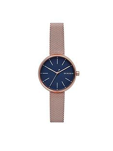 skagen-skagen-signatur-blue-dial-rose-tone-bracelet-ladies-watch
