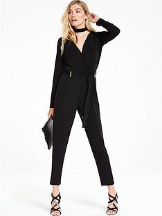 wallis-bar-wrap-jumpsuit