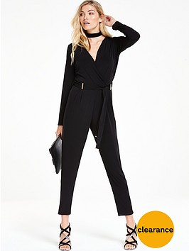 wallis-bar-wrap-jumpsuit