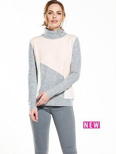 wallis-colourblock-compact-jumper