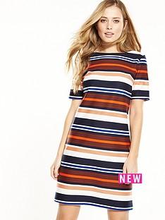 wallis-stripe-texture-dress