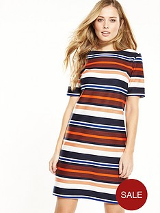 wallis-stripe-texture-dress