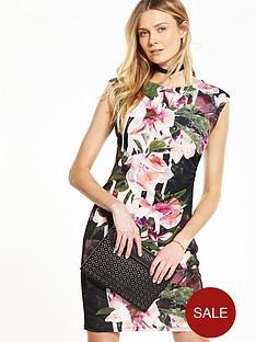 wallis-lily-stripe-jersey-dress