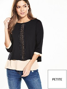 wallis-petite-2-in-1-top-black