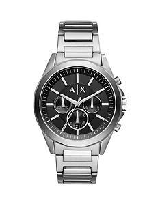 armani-exchange-armani-exchange-drexler-black-chronograph-silver-tone-stainless-steel-mens-watch