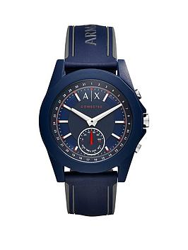 armani-exchange-connected-blue-dial-blue-silicone-smart-watch