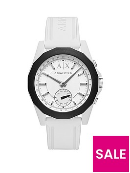 armani-exchange-connected-white-dial-white-silicone-smart-watch