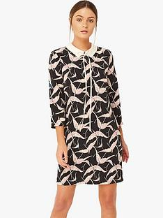 girls-on-film-bird-print-tunic-dress