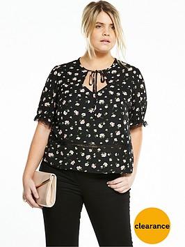 fashion-union-curve-printed-sweetheart-neck-blouse