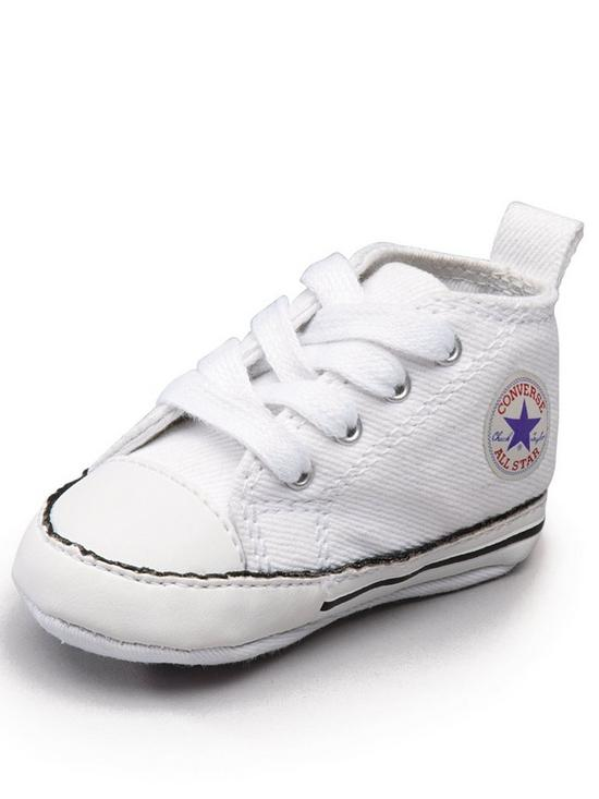 8595e15d689c63 Converse Chuck Taylor All Star First Star Hi Core Crib Trainer ...