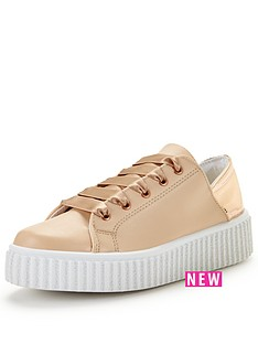 v-by-very-cupcake-metallic-back-trainer-pink