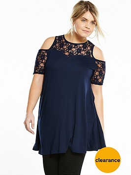v-by-very-curve-lace-swing-sleeve-tunic-navy
