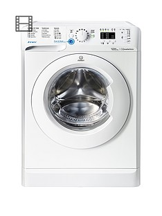 Indesit Innex BWA81283XWUK 8kg Load, 1200 Spin Washing Machine - White, A++ Energy Rating