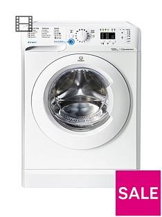 Indesit Innex BWA81283XWUK 8kg Load, 1200 Spin Washing Machine - WhiteA++ Energy Rating