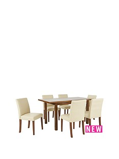 evelyn-solid-wood-extending-dining-table-120-150cm-amp-6-lucca-chairs
