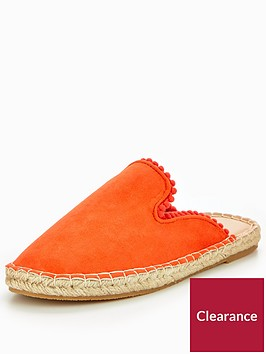 v-by-very-madison-pom-pom-backless-espadrille-orange