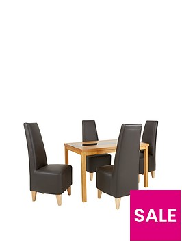 evelyn-120cm-solid-wood-and-glass-dining-table-4-manhattan-chairs