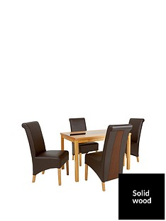 evelyn-120cm-solid-wood-and-glass-dining-table-4-sienna-chairs