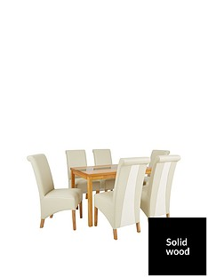 evelyn-120cm-solid-wood-and-glass-dining-table-6-sienna-chairs